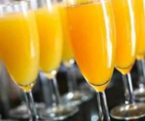 Bottemless Mimosas Saturday and Sunday 9:00am - 1:00pm
